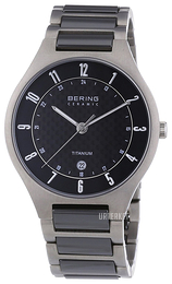 Bering Titanium Sort/Titan Ø39 mm 11739-702