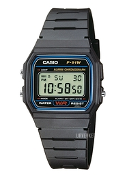 Casio Casio Collection Resinplast 38x33.2 mm F-91W-1YEF