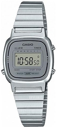 Casio Casio Collection LCD/Stål 30.3x24.6 mm LA670WEA-7EF