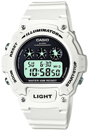 e4c886d7430 Casio Casio Sport LCD/Resinplast Ø45 mm W-214HC-7A