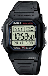 Casio Casio Collection Resinplast 44.2x36.8 mm W-800H-1AVES