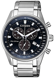 Citizen Chrono Blå/Stål Ø40 mm AT2390-82L