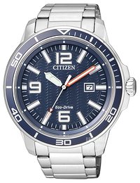 Citizen Dress Blå/Stål Ø47 mm AW1520-51L