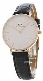 Daniel Wellington Classic Petite Reading Hvit/Lær Ø32 mm DW00100173