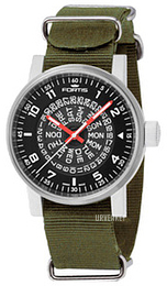 Fortis Spacematic Sort/Tekstil Ø40 mm 623.10.51.N11