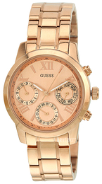 Guess Mini Rosegullfarget/Rose-gulltonet stål Ø36.5 mm W0448L3