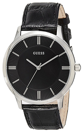 Guess Sort/Lær Ø40 mm W0664G1