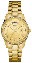 Guess Dress Gulltonet/Gulltonet stål Ø38 mm W0764L2