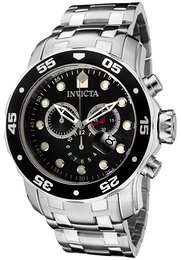 Invicta Pro Diver Sort/Stål Ø48 mm 0069