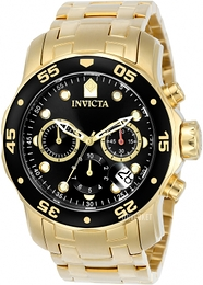 Invicta Pro Diver Sort/Stål Ø48 mm 0072