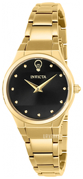 Invicta Gabrielle Union Sort/Gulltonet stål Ø30 mm 23279
