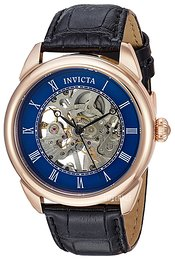 Invicta Specialty Blå/Lær Ø42 mm 23538