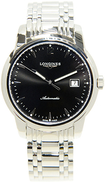 Longines Saint-Imier Sort/Stål Ø41 mm L2.766.4.52.6