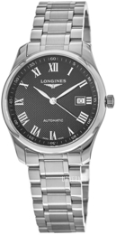 Longines Master Sort/Stål Ø40 mm L2.793.4.51.6