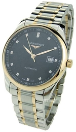 Longines Master Sort/18 karat rosé gull Ø40 mm L2.793.5.57.7