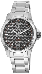 Longines Conquest Sort/Stål Ø43 mm L3.726.4.66.6