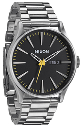 Nixon The Sentry Sort/Stål Ø42 mm A3561227-00