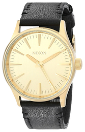 Nixon The Sentry Champagnefarget/Lær Ø38 mm A377513-00