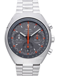Omega Speedmaster Mark II Co-Axial Chronograph 42.4x46.2mm Sort/Stål Ø42.4 mm 327.10.43.50.06.001