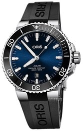 Oris Diving Blå/Gummi Ø43.5 mm 01 733 7730 4135-07 4 24 64EB