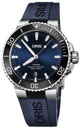 Oris Diving Blå/Gummi Ø43.5 mm 01 733 7730 4135-07 4 24 65EB