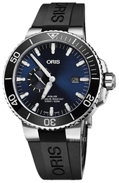Oris Diving Blå/Gummi Ø45.5 mm 01 743 7733 4135-07 4 24 64EB