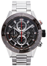 TAG Heuer Carrera Grå/Stål Ø43 mm CAR201U.BA0766