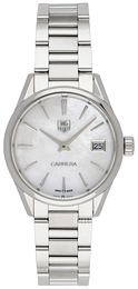 TAG Heuer Carrera Lady Quartz Hvit/Stål Ø32 mm WAR1311.BA0778