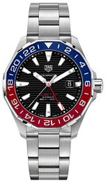 TAG Heuer Aquaracer Sort/Stål Ø43 mm WAY201F.BA0927