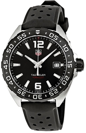 TAG Heuer Formula 1 Sort/Gummi Ø41 mm WAZ1110.FT8023