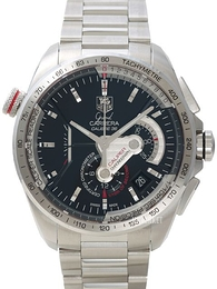TAG Heuer Grand Carrera Calibre 36RS Caliper Automatic Chronograph Sort/Stål Ø43 mm CAV5115.BA0902