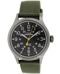 Timex Expedition Sort/Tekstil Ø40 mm T49961