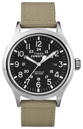 Timex Expedition Sort/Tekstil Ø40 mm T49962
