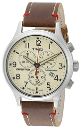 Timex Expedition Beige/Lær Ø42 mm TW4B04300