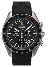 Omega Speedmaster Hb-Sia Co-Axial GMT Chronograph Sort/Titan Ø44.25 mm 321.92.44.52.01.001