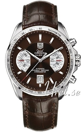 TAG Heuer Grand Carrera Brun/Lær Ø43 mm CAV511E.FC6231