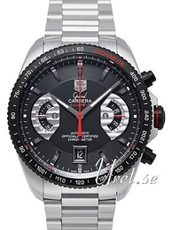 TAG Heuer Grand Carrera Sort/Stål Ø43 mm CAV511C.BA0904