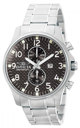 Invicta II Sort/Stål Ø50 mm 0379