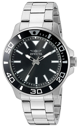 Invicta Pro Diver Sort/Stål Ø46 mm 21542