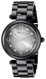 Marc by Marc Jacobs Dress Sort/Stål Ø34 mm MJ3450