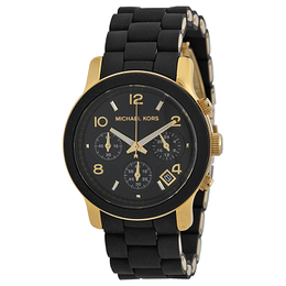 Michael Kors Runway Sort/Plast Ø38 mm MK5191