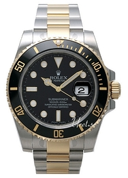 Rolex Submariner Sort/Stål Ø40 mm 116613LN-0001